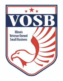 Certified Illinois Veteran Owned Small Business Logo